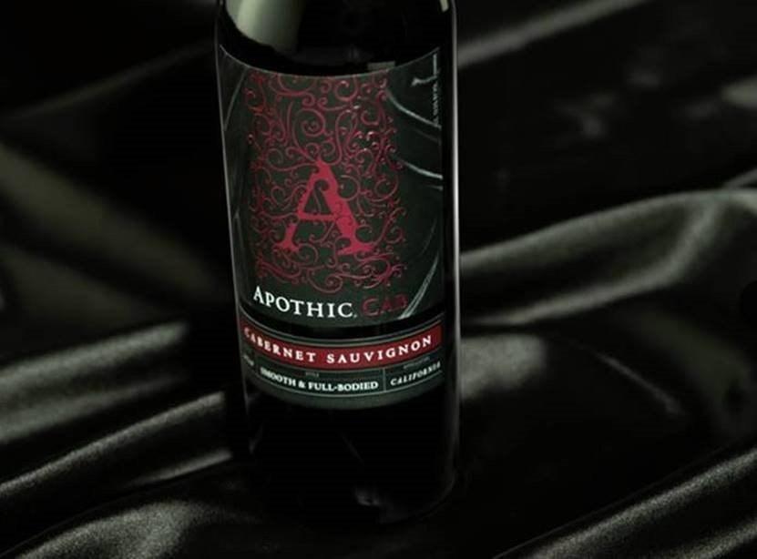 "2018 Apothic ""Cab"" Cabernet Sauvignon California"