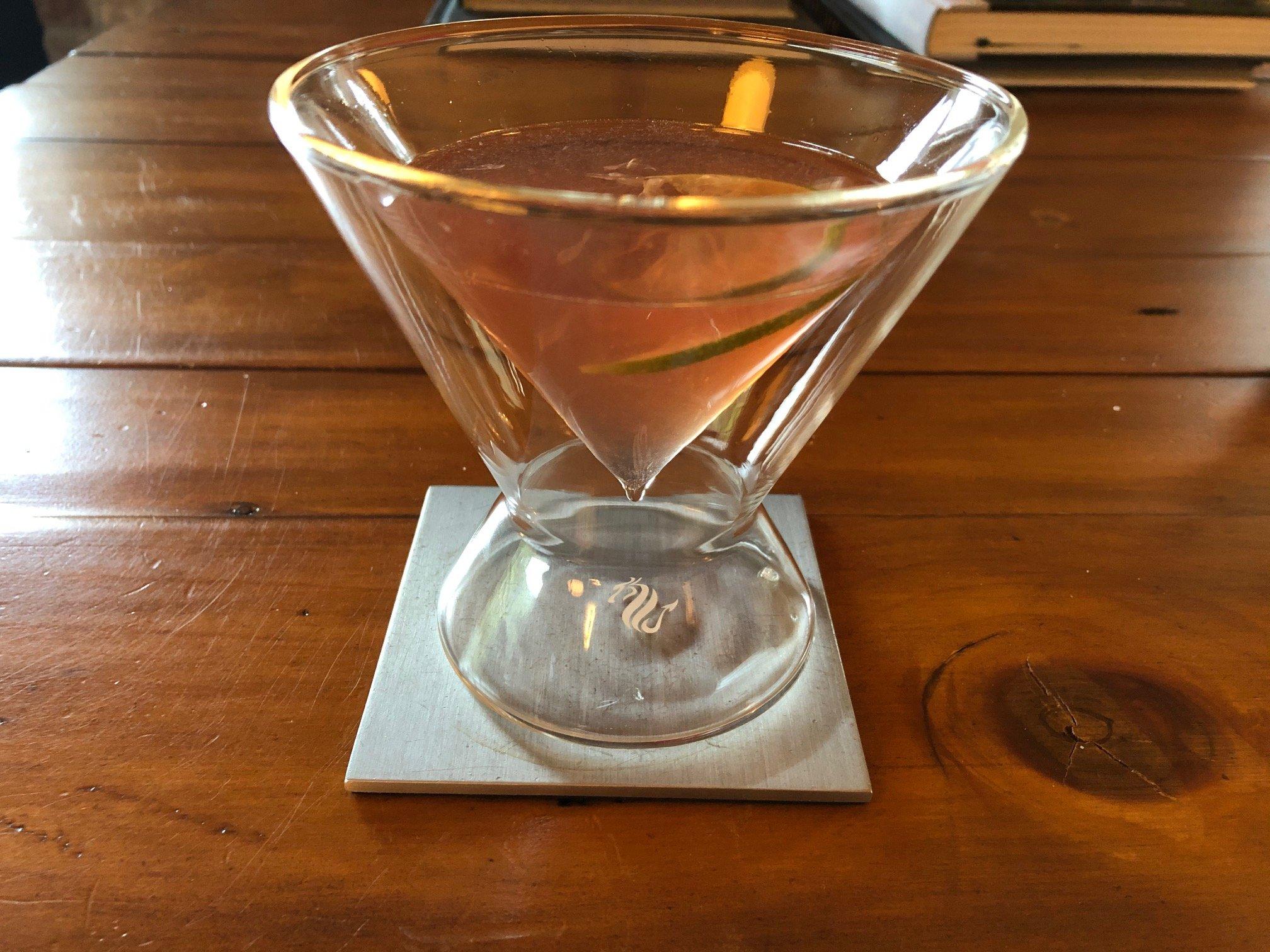 Dragon Martini Glass
