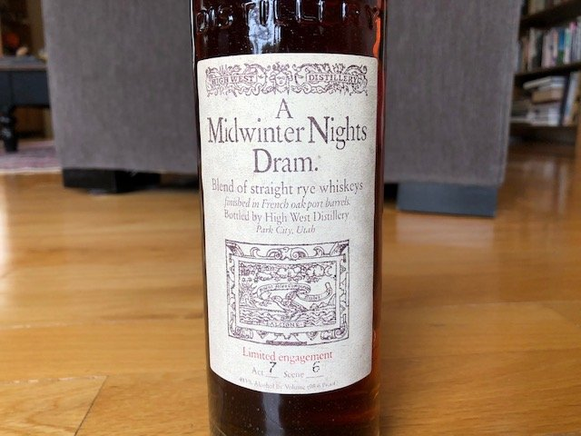High West A Midwinter Nights Dram 7.6