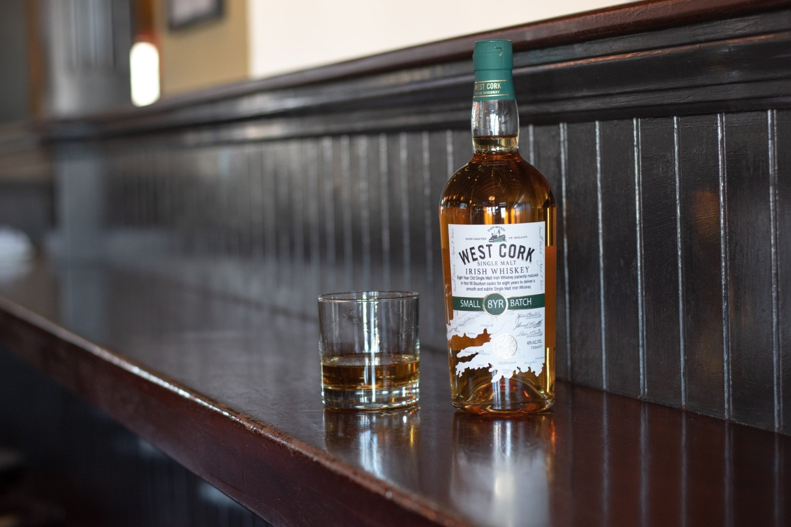 West Cork Small Batch Irish Whiskey 8 Years Old