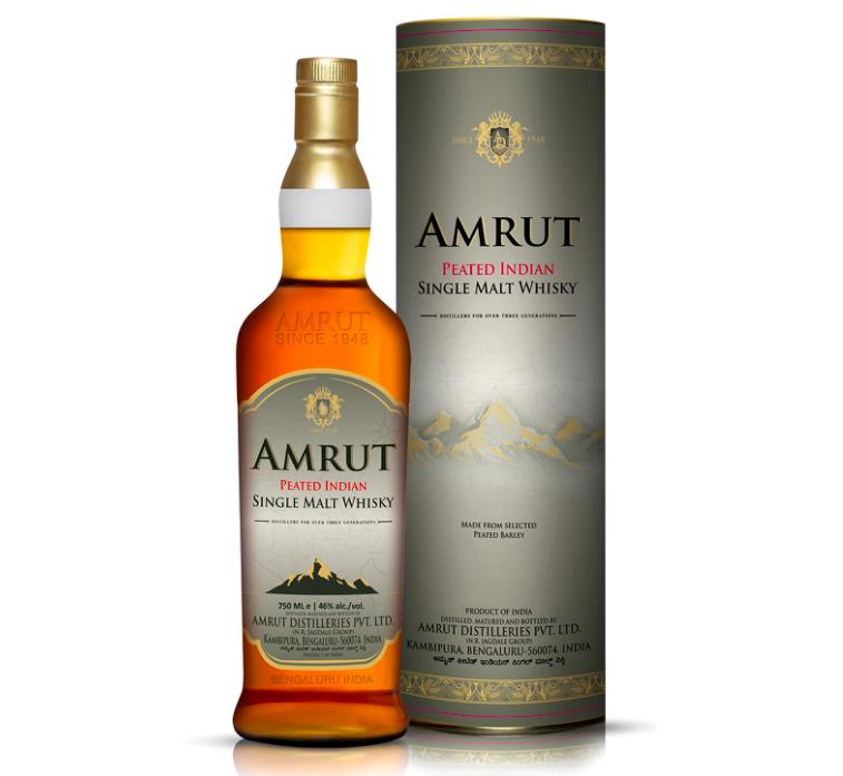 Amrut Peated Indian Single Malt Whisky