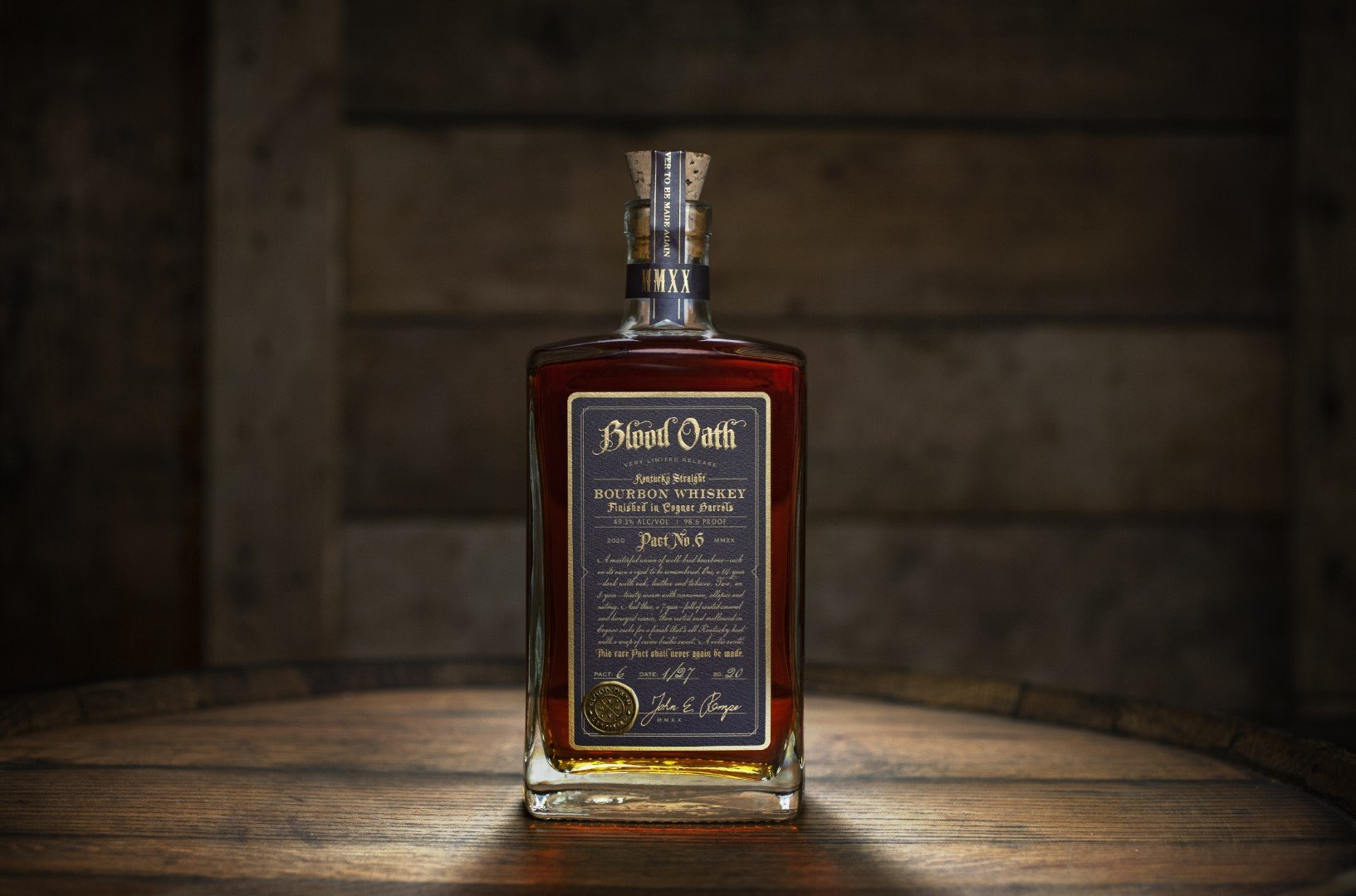 Blood Oath Bourbon Whiskey Pact No. 6 2020