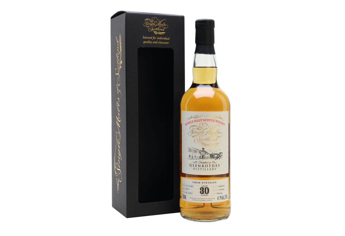 The Single Malts of Scotland The Glenrothes 30 Years Old