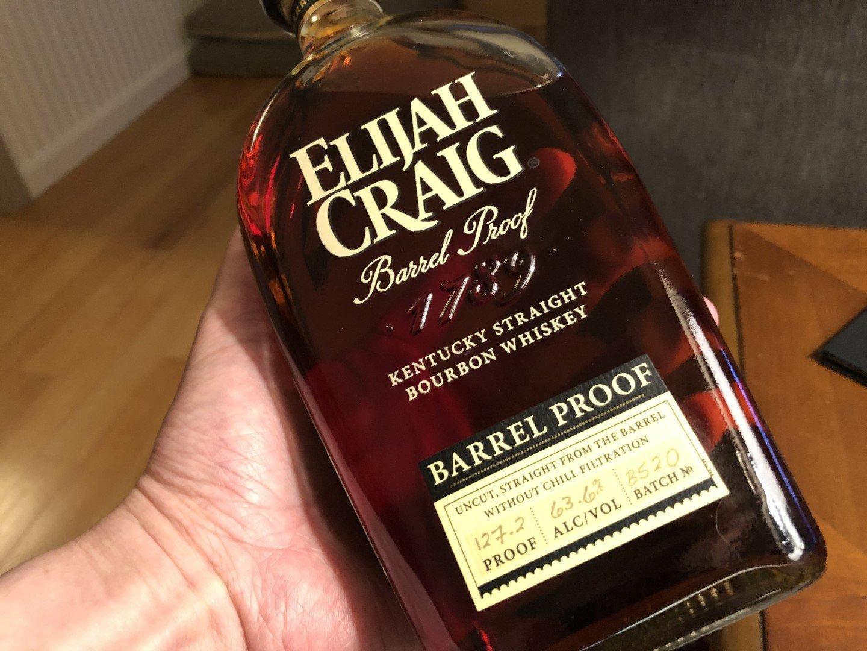 Elijah Craig Barrel Proof Batch B520 (May 2020)
