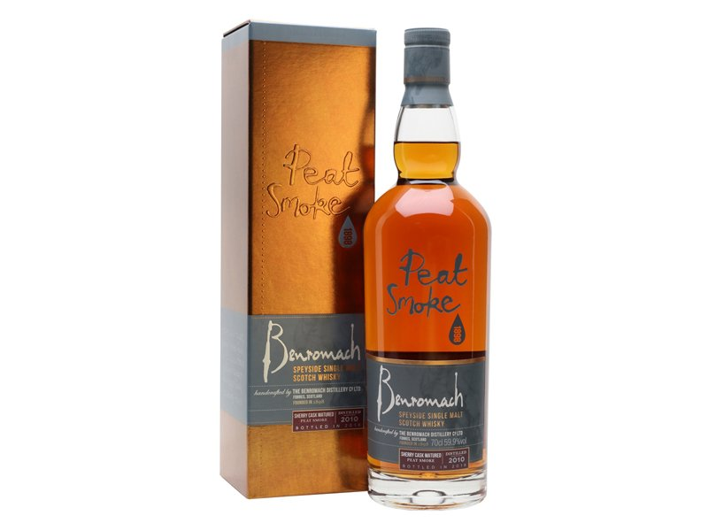 Benromach Peat Smoked Sherry Cask Matured 2010