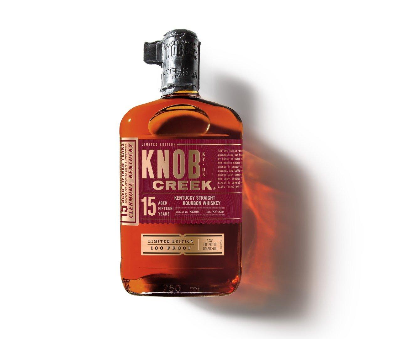 Knob Creek Bourbon 15 Years Old