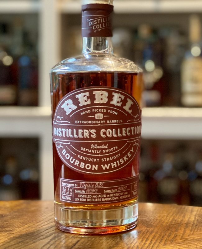 Rebel Distiller's Collection Single Barrel Bourbon from Virginia ABC