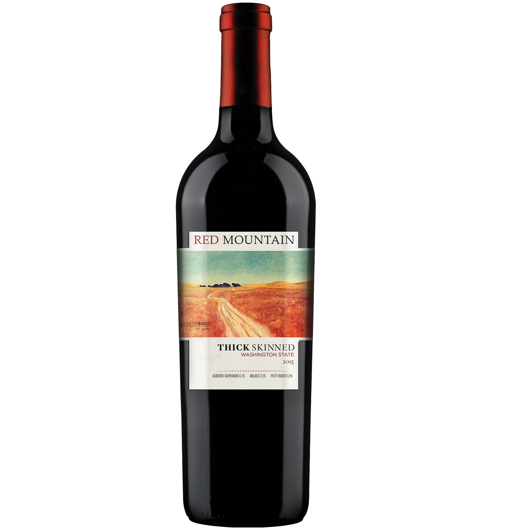 2015 Pacific Rim Winemakers Thick Skinned Red Mountain