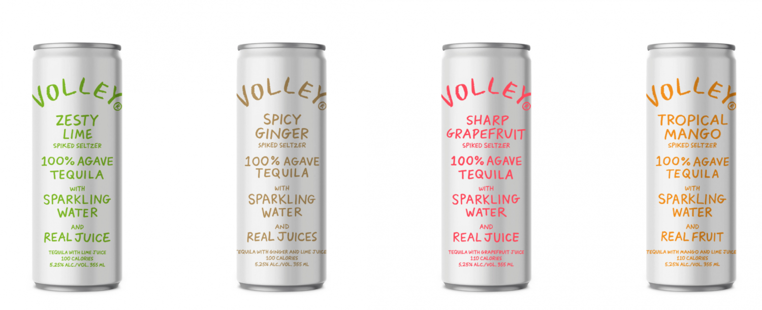 Volley Zesty Lime Spiked Seltzer