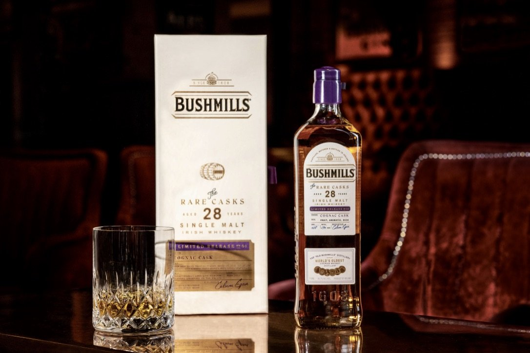 Bushmills Single Malt Cognac Cask 28 Years Old