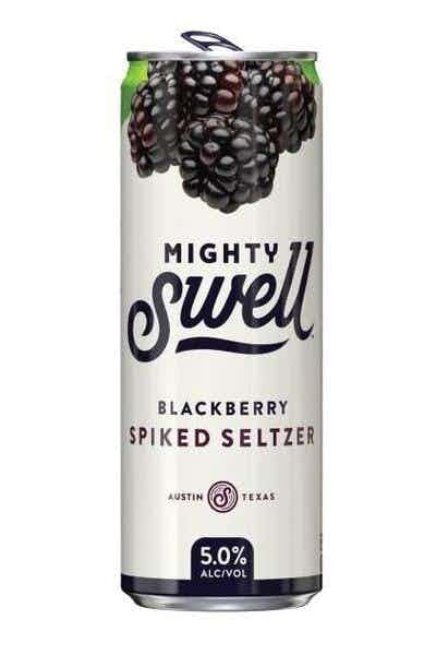 Mighty Swell Blackberry Spiked Spritzer