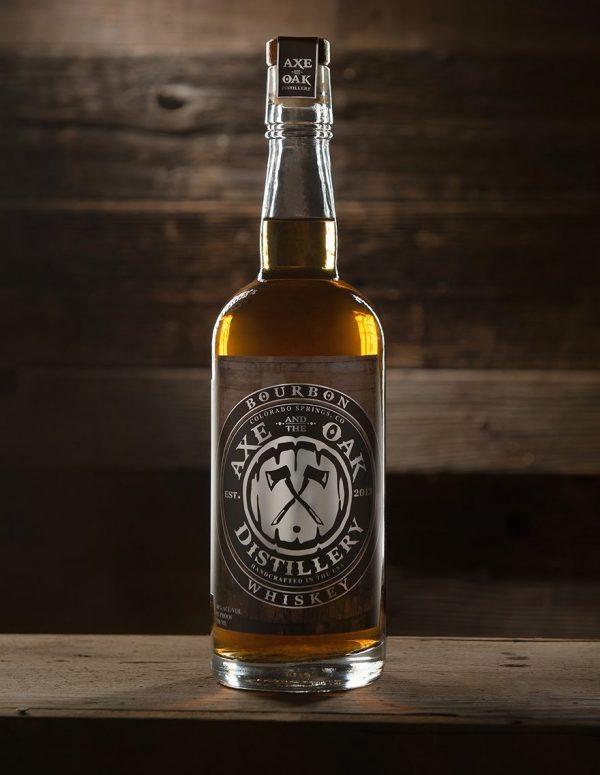 Axe and the Oak Colorado Mountain Bourbon Whiskey