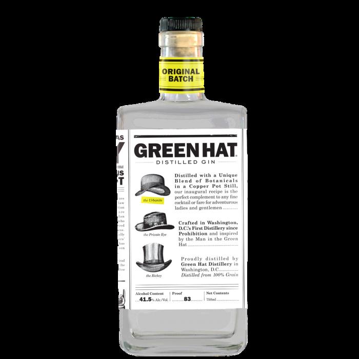 Green Hat Gin Original Batch