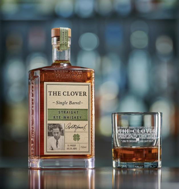 The Clover Whiskey Single Barrel Straight Rye