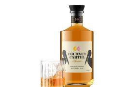 Coconut Cartel Rum Bottle