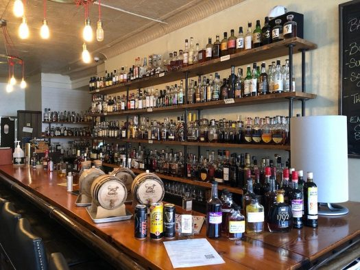Travel Bar Whiskey Selection