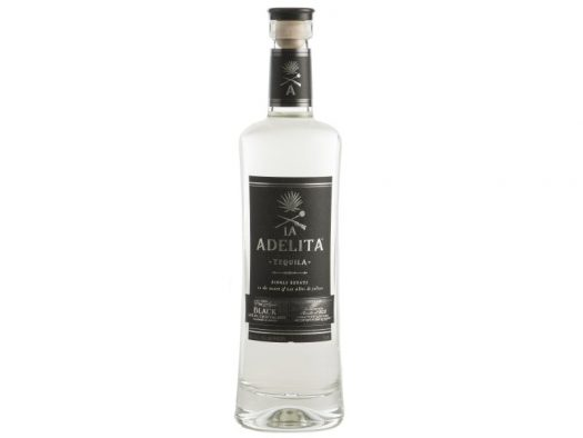 Bottle of La Adelita Black Cristalino Tequila