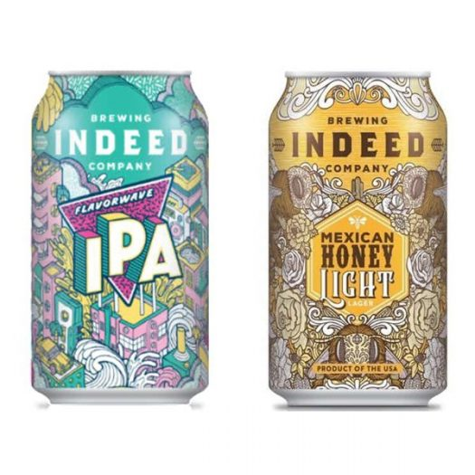 Review: Indeed Brewing Flavorwave IPA and Mexican Honey Light Lager