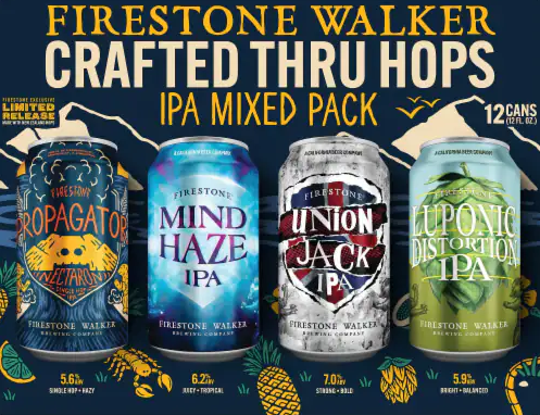 Review: Firestone Walker Luponic Distortion No. 18, Union Jack, and Propagator Nectaron