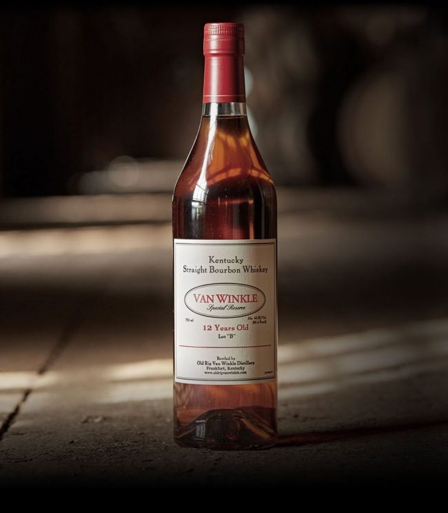 """Review: Van Winkle Special Reserve Lot """"B"""" Bourbon 12 Years Old"""