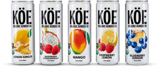 Review: KÖE Kombucha Sparkling Beverages