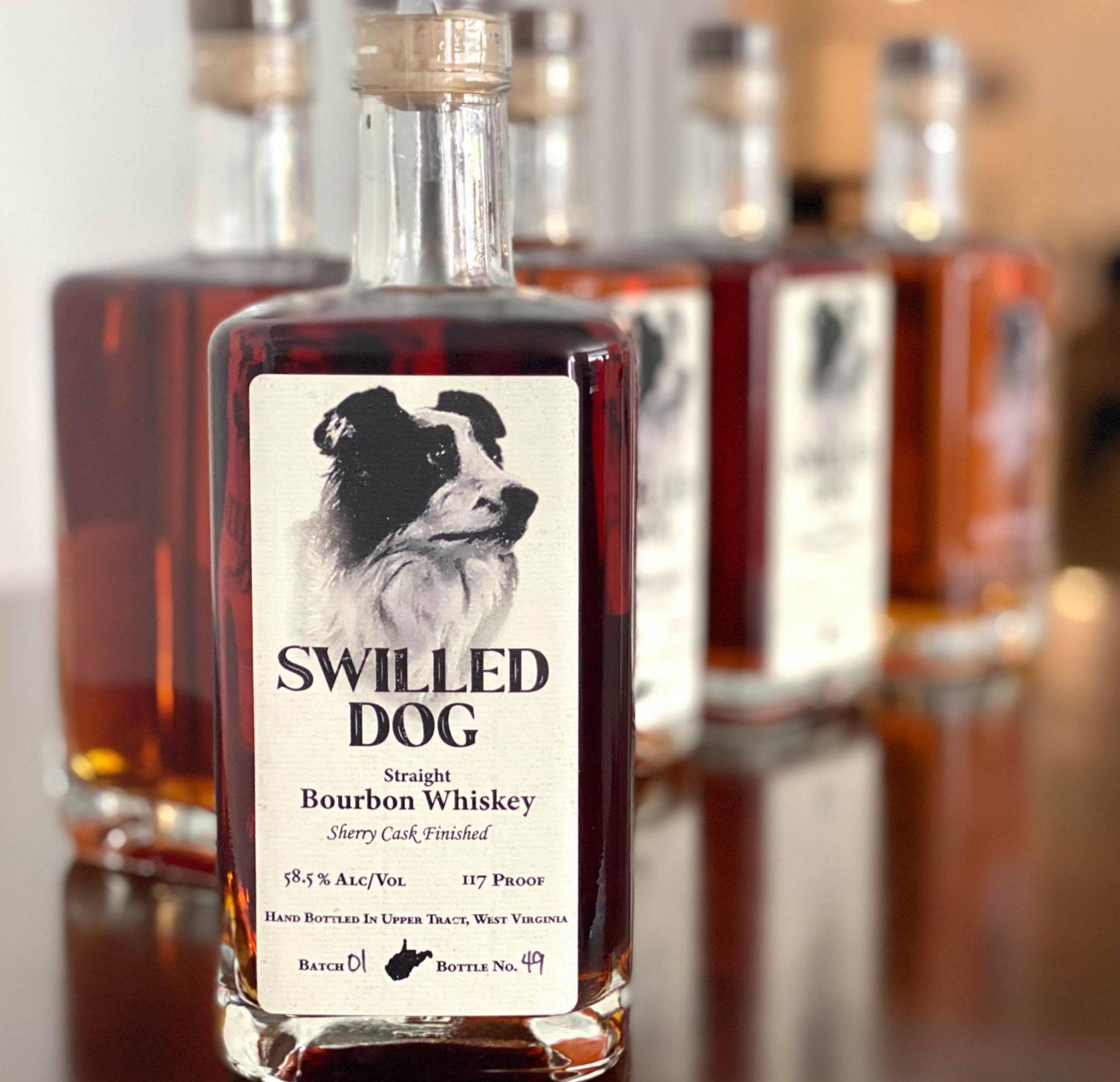 Swilled Dog Barrel Strength Sherry Cask Finished Bourbon