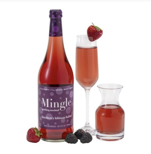 Review: Mingle Mocktails Blackberry Hibiscus Bellini