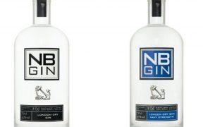 NB Gin bottles